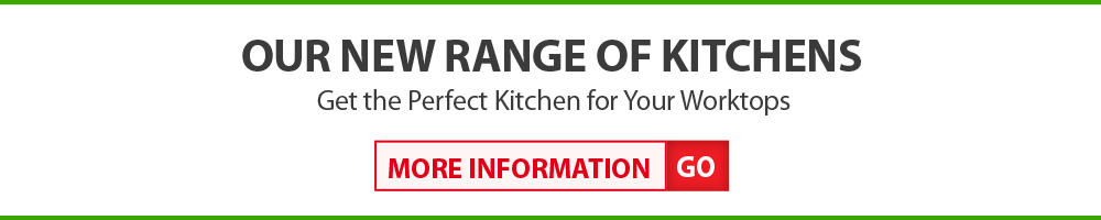 We now sell kitchens, to compliment your granite or quarts worktops perfectly