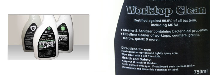 Worktop cleaner